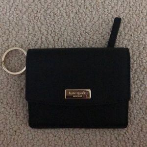 Kate Spade card holder with key chain